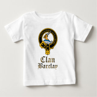 Barclay Scottish Crest Tartan Clan Name Clothes Baby T-Shirt