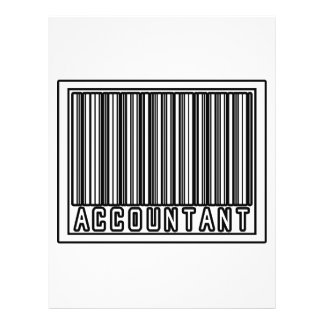 Barcode Accountant Full Color Flyer
