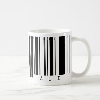 Barcode ALI Basic White Mug