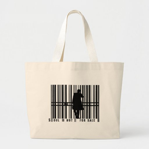 barcode tote bag