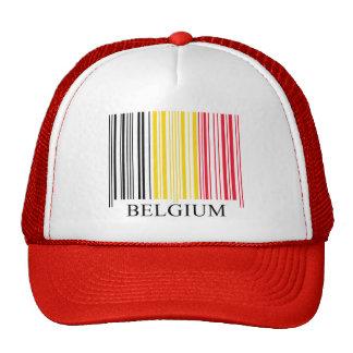 Barcode Belgium Flag Cap