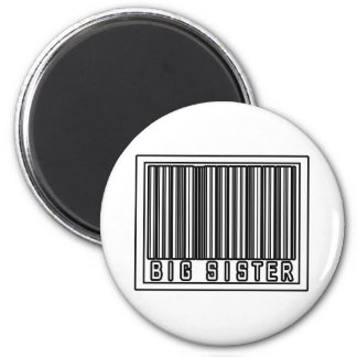 Barcode Big Sister Magnet