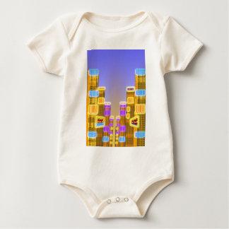 Barcode Boogie -Woogie Baby Bodysuit