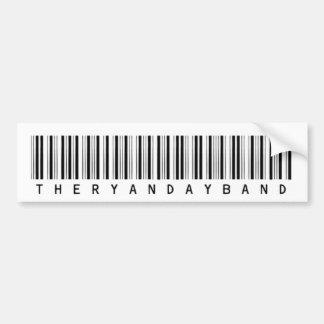 Barcode Bumper Sticker