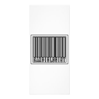 Barcode Cardiologist Customised Rack Card