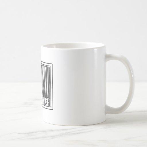 Barcode Cheer Coach Coffee Mugs