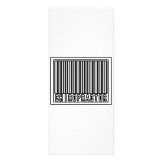 Barcode Chiropractor Custom Rack Card