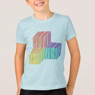 Barcode Cube Trinity Kids American Apparel T-Shirt