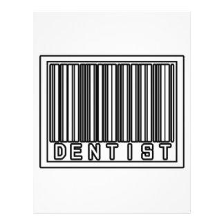 Barcode Dentist 21.5 Cm X 28 Cm Flyer