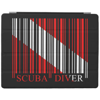 Barcode Dive Flag iPad Cover