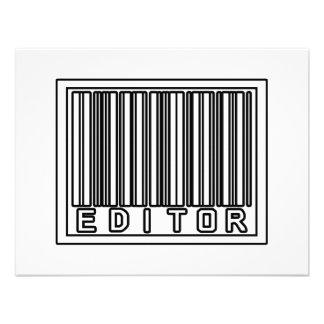 Barcode Editor Invitation