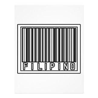 Barcode Filipino 21.5 Cm X 28 Cm Flyer
