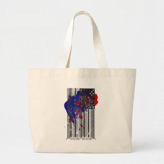 Barcode Flag Bag
