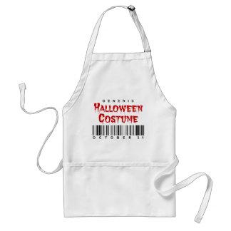 Barcode Generic Halloween Costume Standard Apron