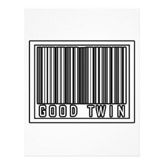 Barcode Good Twin 21.5 Cm X 28 Cm Flyer