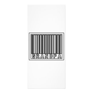 Barcode Grandpa Custom Rack Card