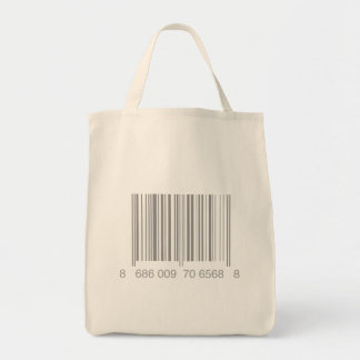 Barcode Grocery Tote Grocery Tote Bag