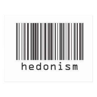 Barcode - Hedonism Postcards