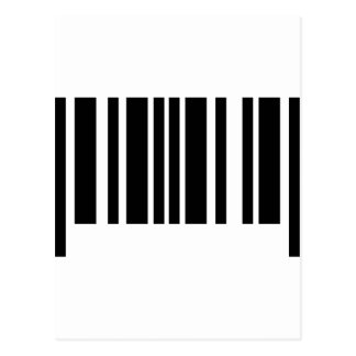barcode icon post card