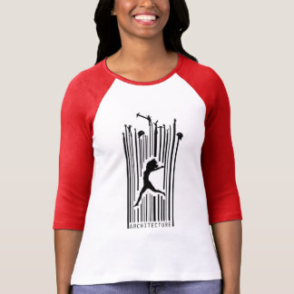 Barcode in Architecture T-Shirt