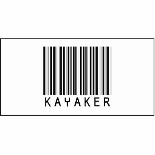 Barcode Kayaker Cut Outs