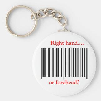 'Barcode' Keychain
