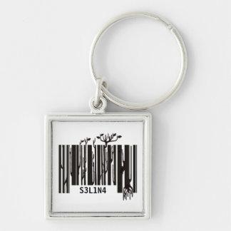 barcode keychain / keyholder - customisable