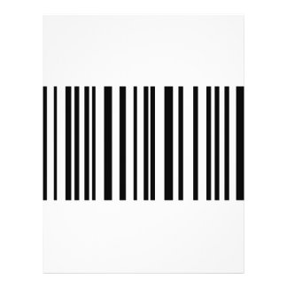 barcode label icon full color flyer