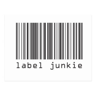 Barcode - Label Junkie Post Cards