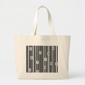 Barcode Large Tote Bag