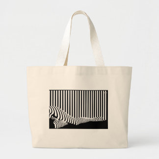 Barcode Legs Tote