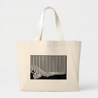 Barcode Legs Tote Jumbo Tote Bag