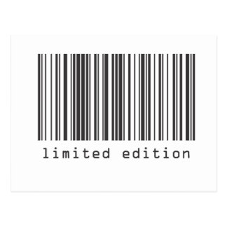 Barcode - Limited Edition Postcards