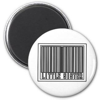 Barcode Little Sister Refrigerator Magnet