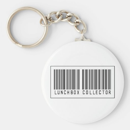 Barcode Lunchbox Collector Keychains