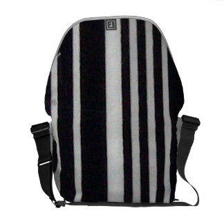 Barcode Messenger Bag
