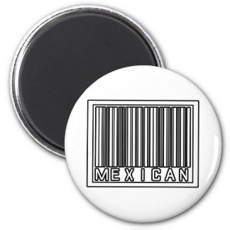 Barcode Mexican Magnets