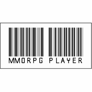 Barcode MMORPG Player Photo Cut Outs