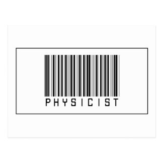 Barcode Physicist Post Card