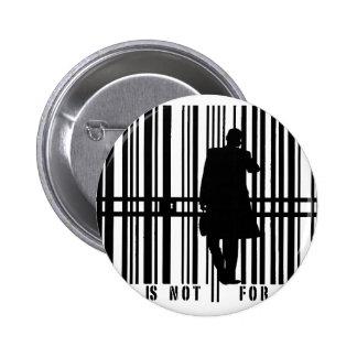 barcode pinback button
