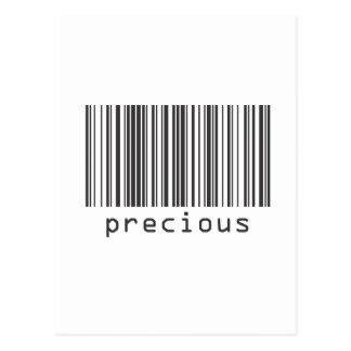 Barcode - Precious Postcard