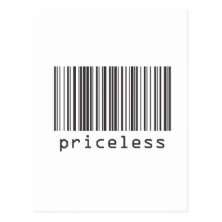 Barcode - Priceless Post Cards
