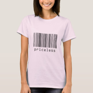 Barcode - Priceless T-Shirt