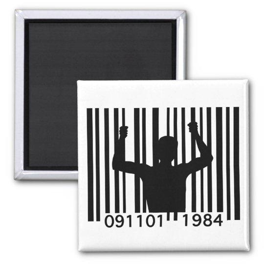 Barcode Prisoner Magnet