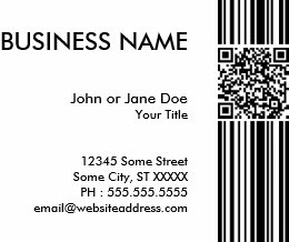 Barcode business cards business card printing zazzle uk barcode qr code business card colourmoves