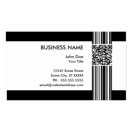 Premium qr code business card templates page4 barcode qr code business cards colourmoves