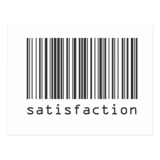 Barcode - Satisfaction Post Cards
