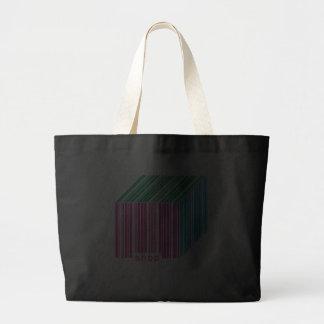 Barcode Shop Black Jumboe Tote Bag