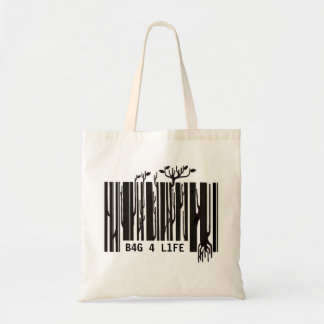 barcode shopping bag - customisable