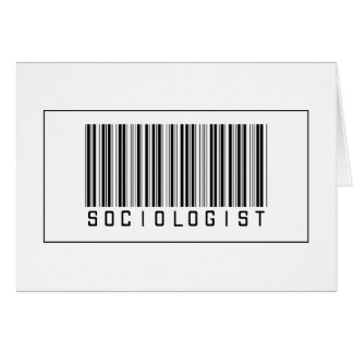 Barcode Sociologist Cards
